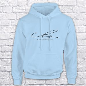 Chemical A blue hoodie