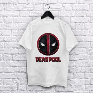Deadpool Logo white T-Shirt