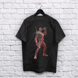 Deadpool black T-Shirt