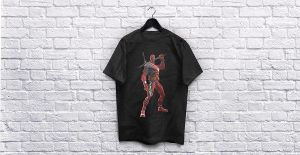 Deadpool black T-Shirt