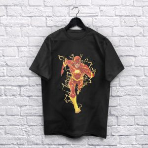 The Flash Black T-Shirt