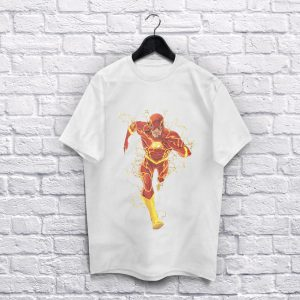 The Flash White T-Shirt