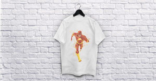 The Flash White T-Shirt