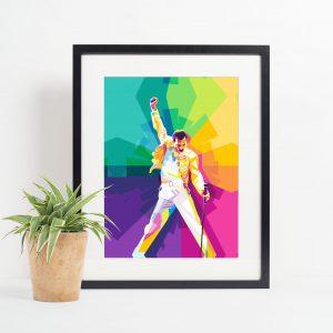 Freddie Mercury frame