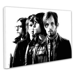 Kings of Leon POP ART canvas print
