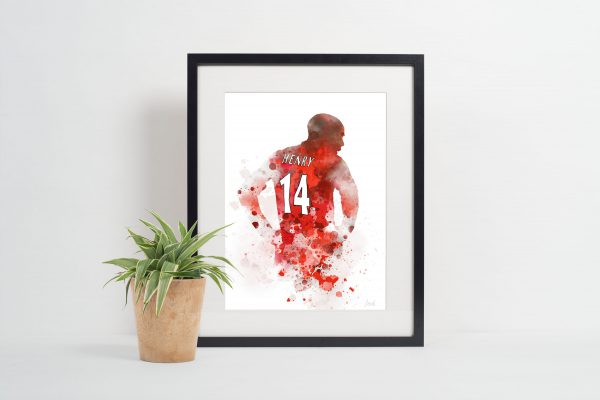 Thierry Henry Picture Frame