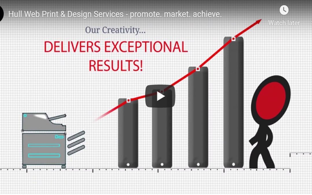 Hull Website Print & Design Services – promote. market. achieve. – Video Promo