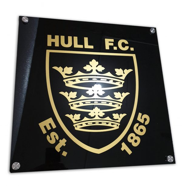 Hull F.C Acrylic Sign