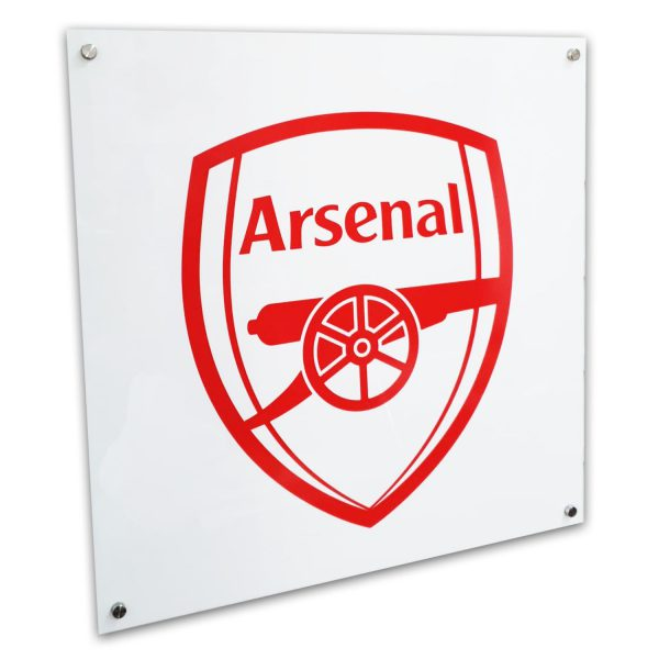 Arsenal Acrylic sign