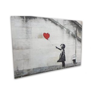 Balloon Girl Bansky canvas- 20x30