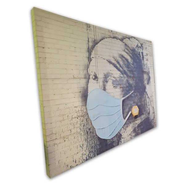 banksi canvas-20x30