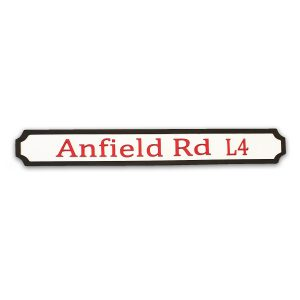 Anfield Rd L4 Wooden Sign