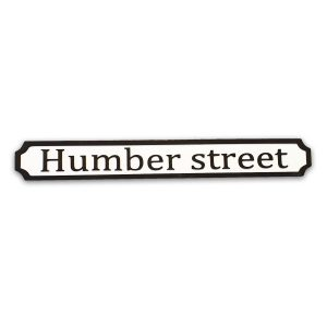 Humber Street Wooden Sign