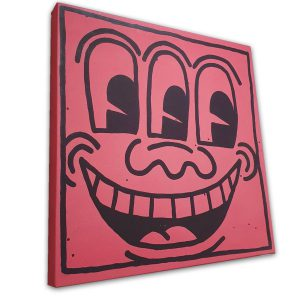 Keith Harring - Three Eyed Face 1982