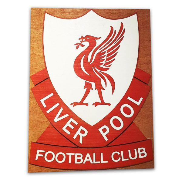 Liverpool wooden sign