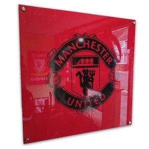Manchester Utd Acrylic Sign