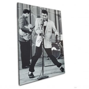 Elvis Presley 40x36 Canvas Print