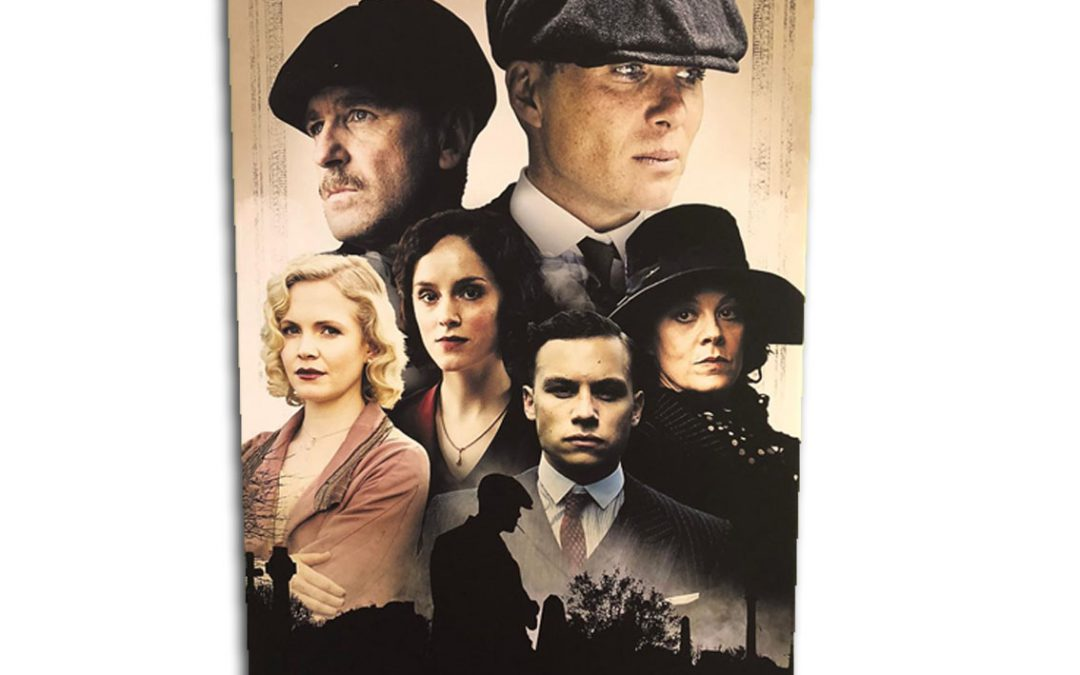 UK Peaky Blinders Canvas Prints Clothing Printing Design Business Service Launch